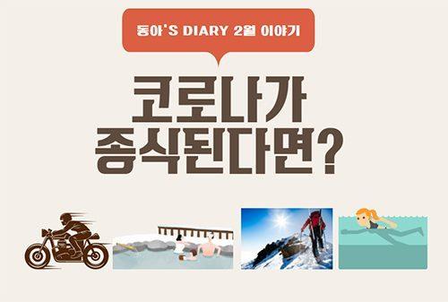 [동아's Diary] 코로나가 종식된다면?