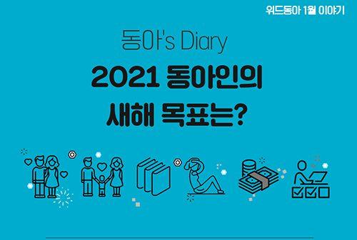 [동아's Diary] 동아인의 2021 새해 목표는 무엇인가요?