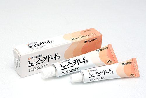 동아제약, 여드름 흉터 치료제 '노스카나 겔' 연매출 100억 원...