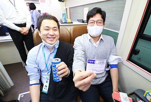 동아오츠카, 코로나19에 따른 혈액 수급난 지원 위해 임직원 헌혈...