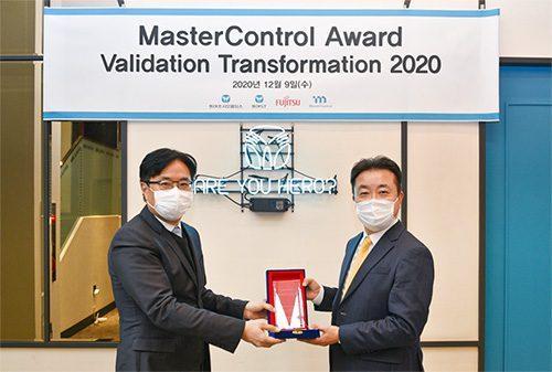 동아쏘시오홀딩스와 동아ST, 미국 '마스터콘트롤 밸리데이션 트랜스포메이션 어워드 2020' 수상