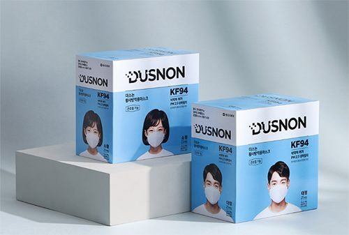 동아제약, '더스논 KF94 마스크' 리뉴얼 출시