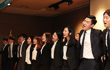 동아쏘시오그룹, 114기 신입사원 수료식 개최